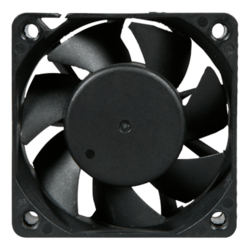 60mm fan 38CFM, 7000RPM, 48dBA