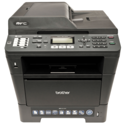 MFC-8510DN, 1200 x 1200 dpi, 38ppm, Monochrome Multifunction Laser Printer