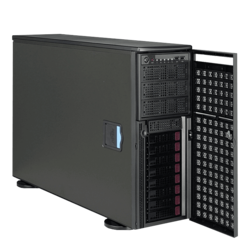 Workstation PC - Supermicro® SuperWorkstation 7049GP-TRT Dual Xeon® Scalable 4U Rack/Tower Workstation PC