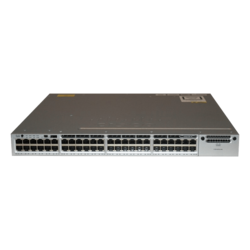 Catalyst WS-C3850-48T-S, 1U, 48 x RJ45, 10/100/1000Mbps, Managed Ethernet Layer 3 Switch