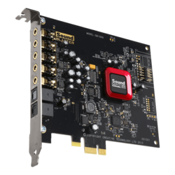 Sound Blaster Z, Internal, 5.1 channels, PCI Express, Sound Card