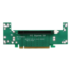DD-666-2U-M, 2U PCIe x16 to PCIe x16 Riser Card Middle Position