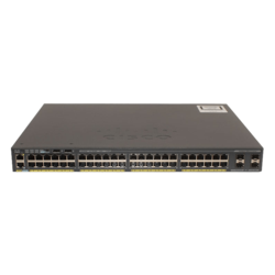 Catalyst 2960-X 48 GigE PoE 370W, 4 x 1G SFP, LAN Base
