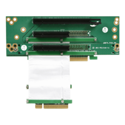 DD-643655-C7 1 PCIe x16 and 2 PCIe x8 Riser Card
