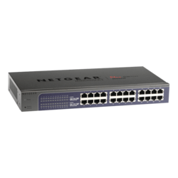 ProSafe Plus JGS524E, 24 x RG45, 10/100/1000Mbps, Smart Ethernet Switch Retail
