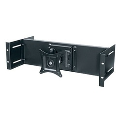 3 Space Rackmount LCD Panel w/ Knuckle