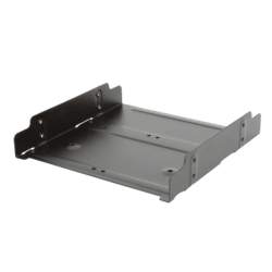 "BRACKET-25525 2 X 2.5"" or 1 X 3.5"" hard drive to 5.25"" bay"