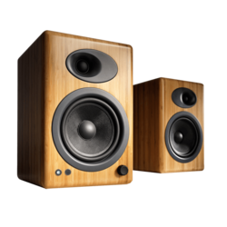 A5+N, 2.0 (2 x 50W), Bamboo, Retail Speaker System