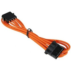 Orange Alchemy Multisleeved 4-Pin Molex Extension Cable, 45cm