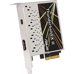 ThunderboltEX II Expansion Card for ASUS* Motherboards, PCI Express 2.0 x4