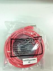 10-ft Red STP Network Patch Cable, Cat 5e, OEM
