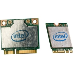 Intel® Wireless-AC 3160 /Bluetooth 4.0, IEEE 802.11ac, 433 Mbps, Internal PCIe Half Mini Card
