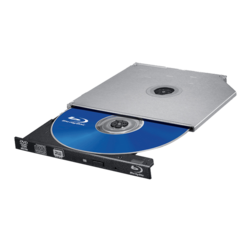 BU20N, BD 6x / DVD 8x / CD 24x, Blu-ray Disc Burner, Ultra Slim, Optical Drive