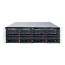 SuperStorage Server 6038R-E1CR16N, 3U, Intel C612, 16x SATA/SAS, LSI 3108 12Gbps SAS, 24x DDR4, Quad 10Gb Ethernet, 920W Rdt PSU