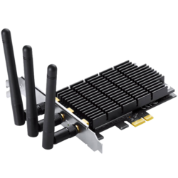 Archer T9E, Internal, Dual-Band 2.4 / 5GHz, 600 / 1300 Mbps, PCI Express 2.0 x1, Wireless Adapter