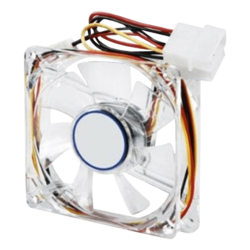 80mm Fan 3pin w/ Molex Adapter