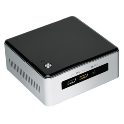 "NUC5I7RYH, Intel Core i7-5557U, 2x DDR3L SO-DIMM, M.2, 2.5"" HDD/SSD, Intel Iris Graphics 6100, Mini PC Barebone"