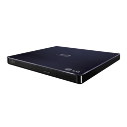 WP50NB40, BD / 6x DVD 8x / CD 24x, Blu-ray Disc Burner, USB, Slim, External Optical Drive