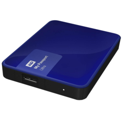 2TB My Passport Ultra, USB 3.0, Premium Portable, Blue, External Hard Drive