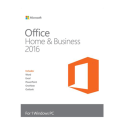 Office Home and Business 2016 Product Key Card - 1 PC