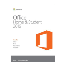 Office Home and Student 2016 Product Key Card - 1 PC