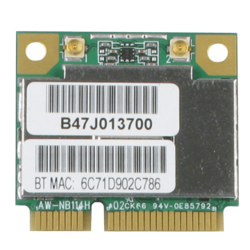 AW-NB114H 802.11b/g/n Wi-Fi and Bluetooth PCIe Module