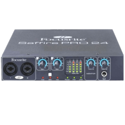 Saffire PRO 24 - 16 in / 8 out Firewire audio interface featuring two Focusrite preamps