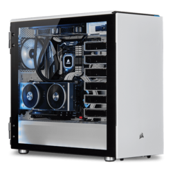 - 2nd Gen AMD Ryzen™ Series, X470 Chipset, 2-way SLI® / CrossFireX™ Custom Barebone Desktop
