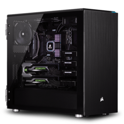 - 3rd Gen AMD Ryzen™ Series, X570 Chipset, 2-way SLI® / CrossFireX™ Custom Barebone Desktop