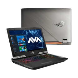 "- ASUS ROG G703GX-XB76, 17.3"" FHD 144Hz 3ms, w/ G-SYNC, Core™ i7-9750H, GeForce RTX™ 2080, Gaming Laptop"