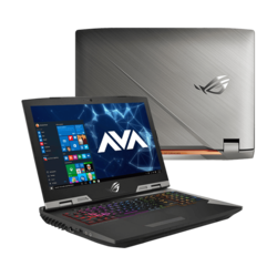 "Gaming Laptop - ASUS ROG G703GI-XS98K, 17.3"" FHD, Core™ i9-8950HK, Overclocked NVIDIA® GeForce® GTX 1080 G-SYNC Graphics Gaming Laptop"