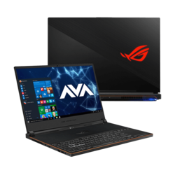"- ASUS ROG Zephyrus S GX531GX-XB76, 15.6"" FHD 240Hz, Core™ i7-9750H, GeForce RTX™ 2080 Max-Q, Gaming Laptop"