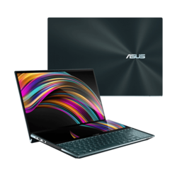 "Custom Laptop - ASUS ZenBook Pro Duo UX581GV-XB94T, 15.6"" UHD OLED Touch + ScreenPad™ Plus, Core™ i9, GeForce RTX™ 2060, Ultraportable Laptop"