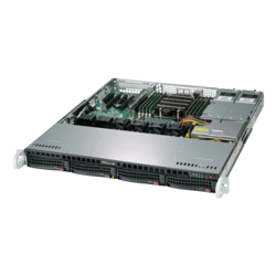 1U Rack Server - Supermicro A+ Server 1013S-MTR AMD EPYC™ 7000 Processors SATA 1U Rackmount Server Computer
