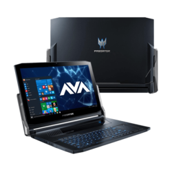 "- Acer Predator Triton 900 PT917-71-969C, 17.3"" UHD Touch, Core™ i9-9980HK, NVIDIA® GeForce RTX™ 2080 G-SYNC Graphics Gaming Laptop"