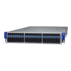 Storage Server - Tyan Transport SX TN70AB8026 (B8026T70AE24HR), AMD EPYC™ 7000 Series, NVMe/SATA, 2U Storage Server Computer
