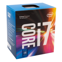 Core™ i7-7700 4-Core 3.6 - 4.2GHz Turbo, LGA 1151, 65W TDP, Retail Processor