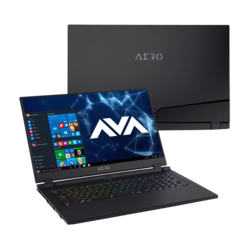 "- Gigabyte AERO 17 HDR XA-7US4130SQ, 17.3"" UHD HDR, Core™ i7-9750H, NVIDIA® GeForce RTX™ 2070 Graphics Gaming Laptop"