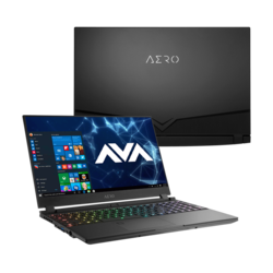 "- Gigabyte AERO 15 OLED YA-7US5450SP, 15.6"" UHD, Core™ i7-9750H, NVIDIA® GeForce RTX™ 2080 Max-Q Graphics Gaming Laptop"