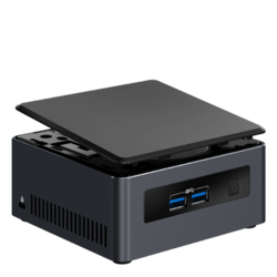 Mini PC - Intel NUC NUC7i3DNHE 7th generation Intel® Core™ i3-7100U Mini PC