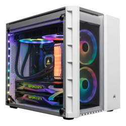 Compact Gaming PC - Intel 9th Gen Coffee Lake-R Core™ i5 / i7 / i9, Z390 Chipset, 2-way SLI® / CrossFireX™ Compact Gaming PC
