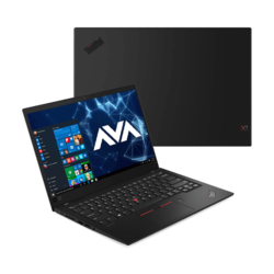"- Lenovo ThinkPad X1 Carbon (7th Gen) 20R1000TUS, 14"" FHD Multi-touch, Core™ i7-10510U, Portable Laptop"