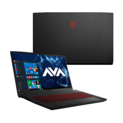 "Gaming Laptop - MSI GF75 THIN 9SC-027, 17.3"" FHD 100%sRGB, Core™ i7-9750H, NVIDIA® GeForce GTX 1650 4GB Graphics Gaming Laptop"