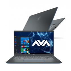 "- MSI Prestige 15 A10SC-011, 15.6"" FHD, Intel® Core™ i7-10710U, GeForce® GTX 1650 Max-Q, Custom Laptop"
