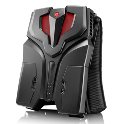 VR Backpack - MSI VR One, Intel Core™ i7-7820HK, NVIDIA® GeForce® GTX 1070 8GB Graphics VR Backpack PC