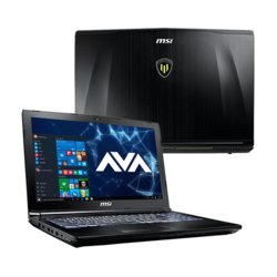 "Workstation Laptop - MSI WE62 7RI-1861US 15.6"" Core™ i7-7700HQ, NVIDIA® Quadro M1200 Graphics Custom Workstation Laptop"