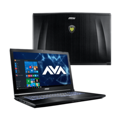 "Workstation Laptop - MSI WE72 7RJ-1082US 17.3"" Core™ i7-7700HQ, NVIDIA® Quadro M2200 Graphics Custom Workstation Laptop"
