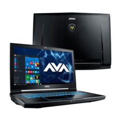 "Workstation Laptop - MSI WT73VR 7RM-687US 17.3"" Xeon® E3-1505M v6, NVIDIA® Quadro P5000 Graphics Custom Workstation Laptop"