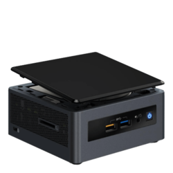 Mini PC - Intel NUC NUC8i3CYSN 8th generation Intel® Core™ i3-8121U, 4GB Memory, AMD Radeon™ 540 Graphics, Mini PC