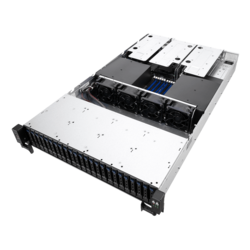 2U Rack Server - ASUS RS720-E9-RS24-E, 2nd Gen Xeon® Scalable, SATA/SAS 2U Rackmount Server Computer